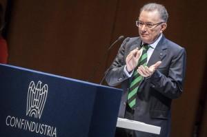 """Squinzi, ultimatum a Letta: """"Porti soluzioni o ci appelliamo a Napolitano"""""""