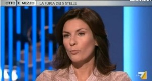 """Alessandra Moretti """"ospite fissa di Massimo Giletti"""" dirà """"p..."""" come dalla Gruber?"""