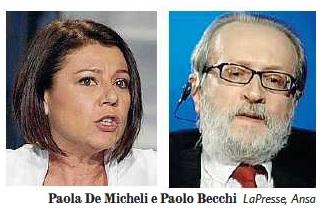 Andrea Scanzi contro Paolo Becchi e Paola De Micheli sul Fatto Quotidiano