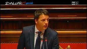 """Ballarò, Matteo Renzi: """"Padoan? Non è signor no, decidiamo insieme"""" (video)"""