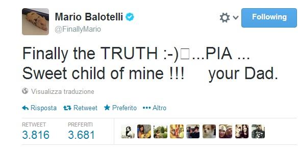 """Mario Balotelli, lettera a Verissimo: """"Scrivere papà mi ha fatto emozionare"""""""