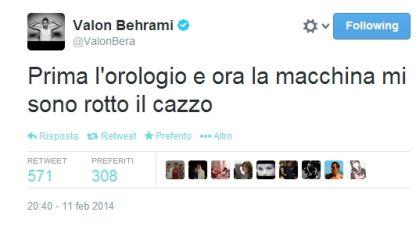 """Behrami, rubata l'auto a Napoli: """"Ora mi sono rotto il c..."""""""