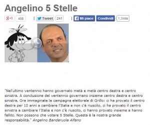 Beppe Grillo lancia l'hashtag #alfanostaisereno