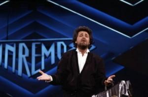 Un Beppe Grillo d'annata a Sanremo