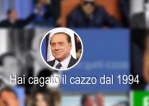 Facebook, il lookback di Silvio Berlusconi