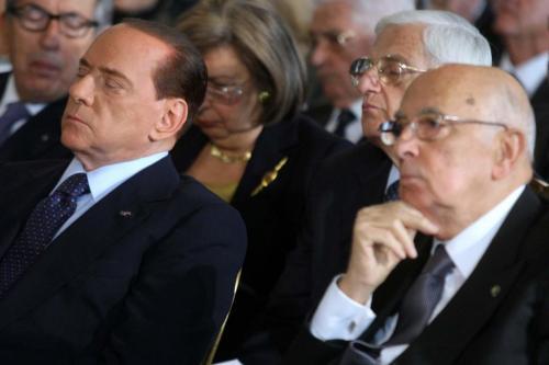 """Berlusconi boccia Giorgio Napolitano: """"Oggi non lo rivoterei"""""""