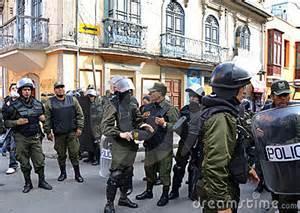 Polizia boliviana