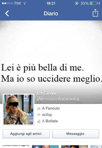 bollate rissa bulla profilo facebook