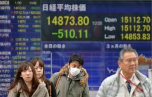 Borse, Tokyo crolla a -4,18% dopo il lunedì nero di Wall Street