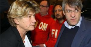 Cgil. Camusso contro Landini: la lettera che chiede sanzioni al leader Fiom
