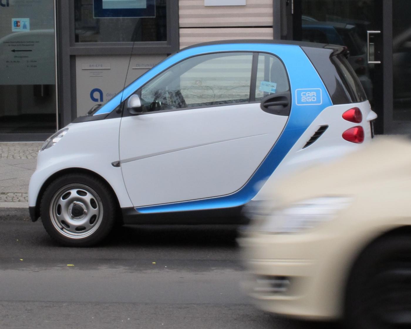 Car2go: il car sharing di Mercedes arriva a Roma