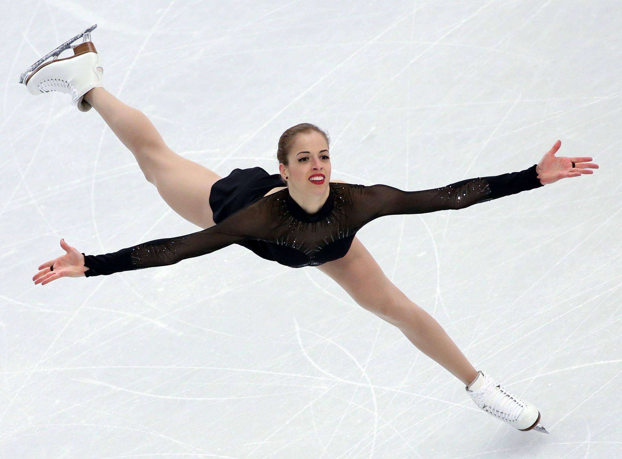 Sochi Carolina Kostner Bronzo Nel Pattinaggio Di Figura