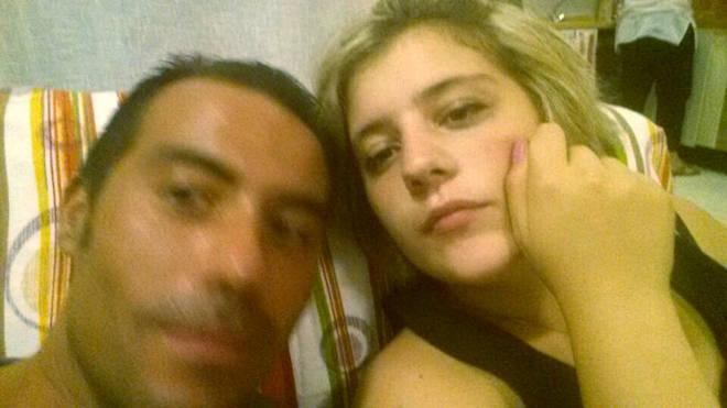 Chiara Insidioso Monda con il fidanzato Maurizio Falcioni