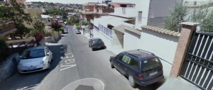 Via Costanzi, dove è avvenuto il pestaggio (Google maps)