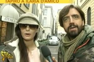 Ilaria D'Amico  e Valerio Staffelli