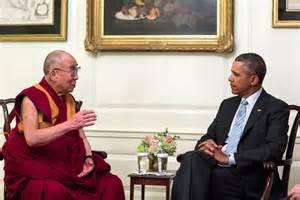 L'incontro tra Obama e il Dalai Lama