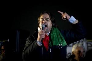 """I Forconi tornano a Roma: """"Governo a casa. Bruciamo Montecitorio"""""""