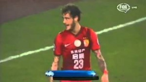 Diamanti che esordio con il Guangzhou: doppietta in Champions (video)