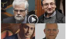 Luis Alberto Orellana, Lorenzo Battista, Francesco Campanella e Fabrizio Bocchino