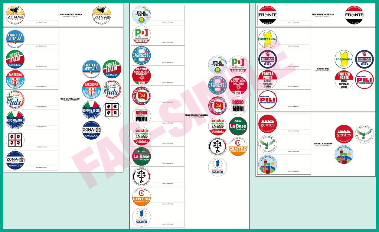 Elezioni Regionali Sardegna, Oristano: tutte le liste e i candidati