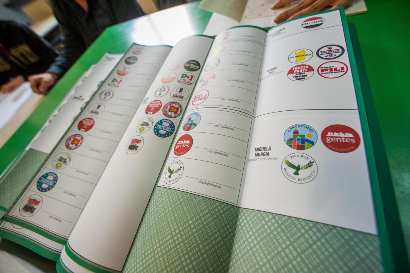 Elezioni regionali Sardegna 2014: ancora 8 sezioni rimaste, decide il Tribunale