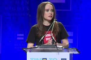 L'attrice Ellen Page annuncia di essere lesbica