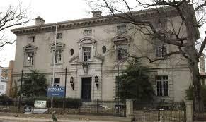 La vecchia ambasciata d'Italia a Washington
