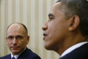 Enrico Letta e Barack Obama