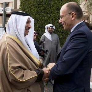 "Enrico Letta: ""Kuwait investe in Italia, 500mln € in arrivo"""