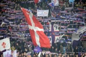 Esbjerg-Fiorentina, scontri e rissa tra tifosi: arresti (LaPresse)