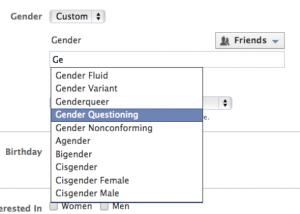 "Facebook aumenta i sessi: uomo, donna, trans, bisex o ""in cerca"""