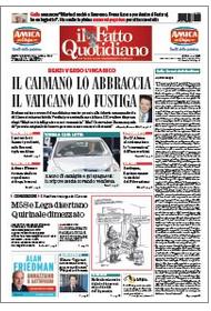 """Marco Travaglio sul Fatto Quotidiano: """"Sulla Smart del vincitore"""""""