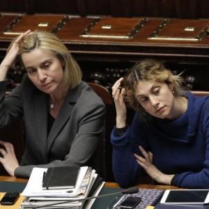 Federica Mogherini e Marianna Madia