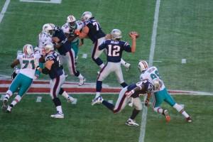 I Miami Dolphins in partita