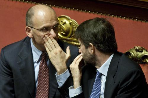 """Enrico Letta dà del traditore a Franceschini? Lui smentisce: """"Frasi mai dette"""""""