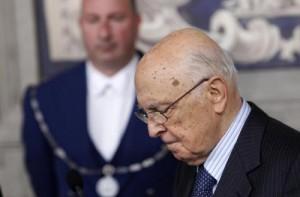 """Giorgio Napolitano: """"Nessun braccio di ferro con Renzi"""""""