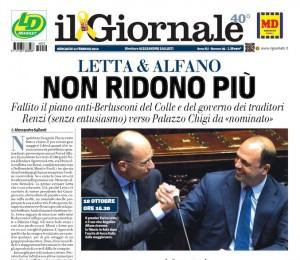 """""""Napolitano deve lasciare"""", Vittorio Feltri sul Giornale"""