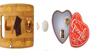 San Valentino: con l'animazione di Google si mandano cioccolatini virtuali