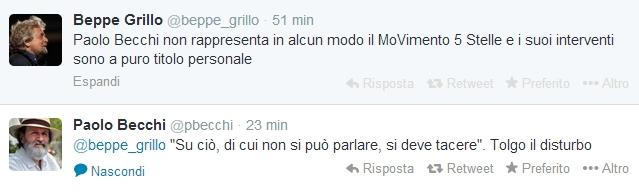 """Beppe Grillo scomunica Paolo Becchi su Twitter: """"Non rappresenta M5s"""""""