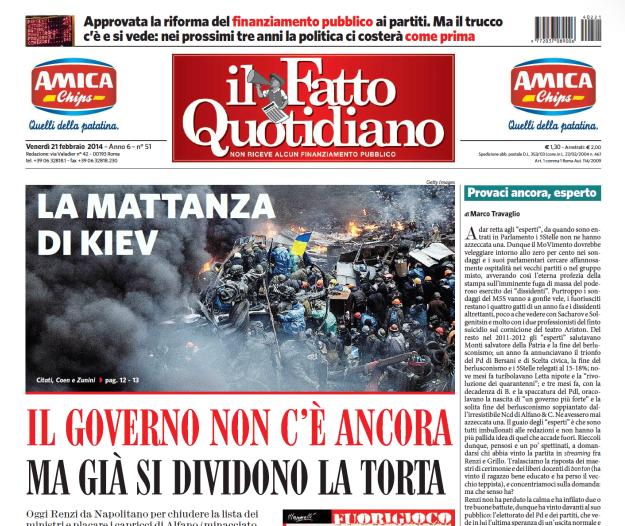 """Marco Travaglio sul Fatto Quotidiano: """"Provaci ancora, esperto"""""""