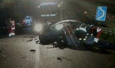 Salerno. Incidente mortale ad Agropoli: 4 morti e 3 feriti