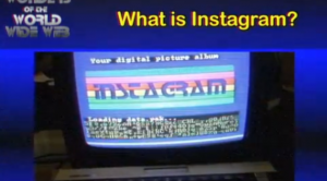Se Instagram fosse stato inventato negli anni 80? Ecco la sua grafica