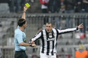 Juventus, nessuna lesione muscolare per Giorgio Chiellini (LaPresse)