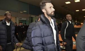 Juventus, Vucinic ko: distorsione del ginocchio destro (LaPresse)