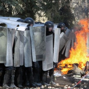 Sul fronte di Maidan si spara. Guerra civile ucraina in diretta