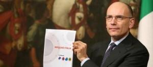 Enrico Letta presenta Impegno Italia