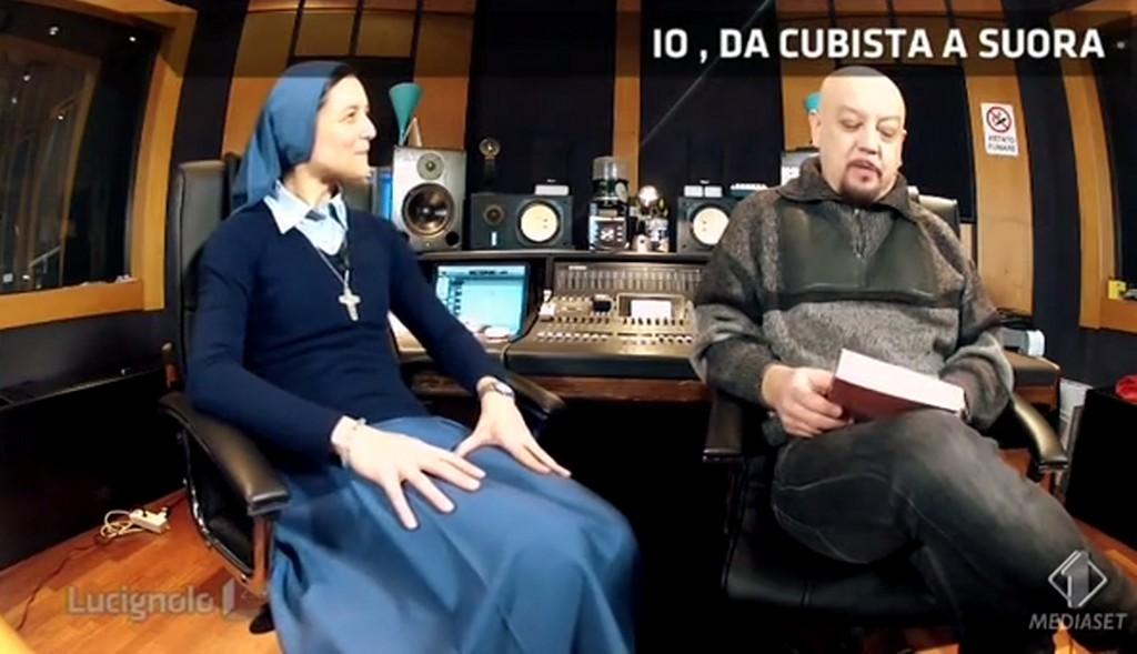 """Lucignolo, prima cubista poi suora: """"Musica e sesso erano le mie droghe"""" (video)"""