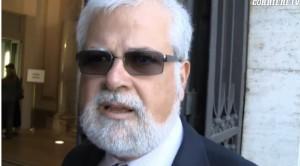 Luis Alberto Orellana, uno dei senatori in odore di espulsione
