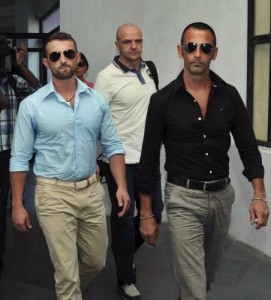 I marò italiani detenuti in India