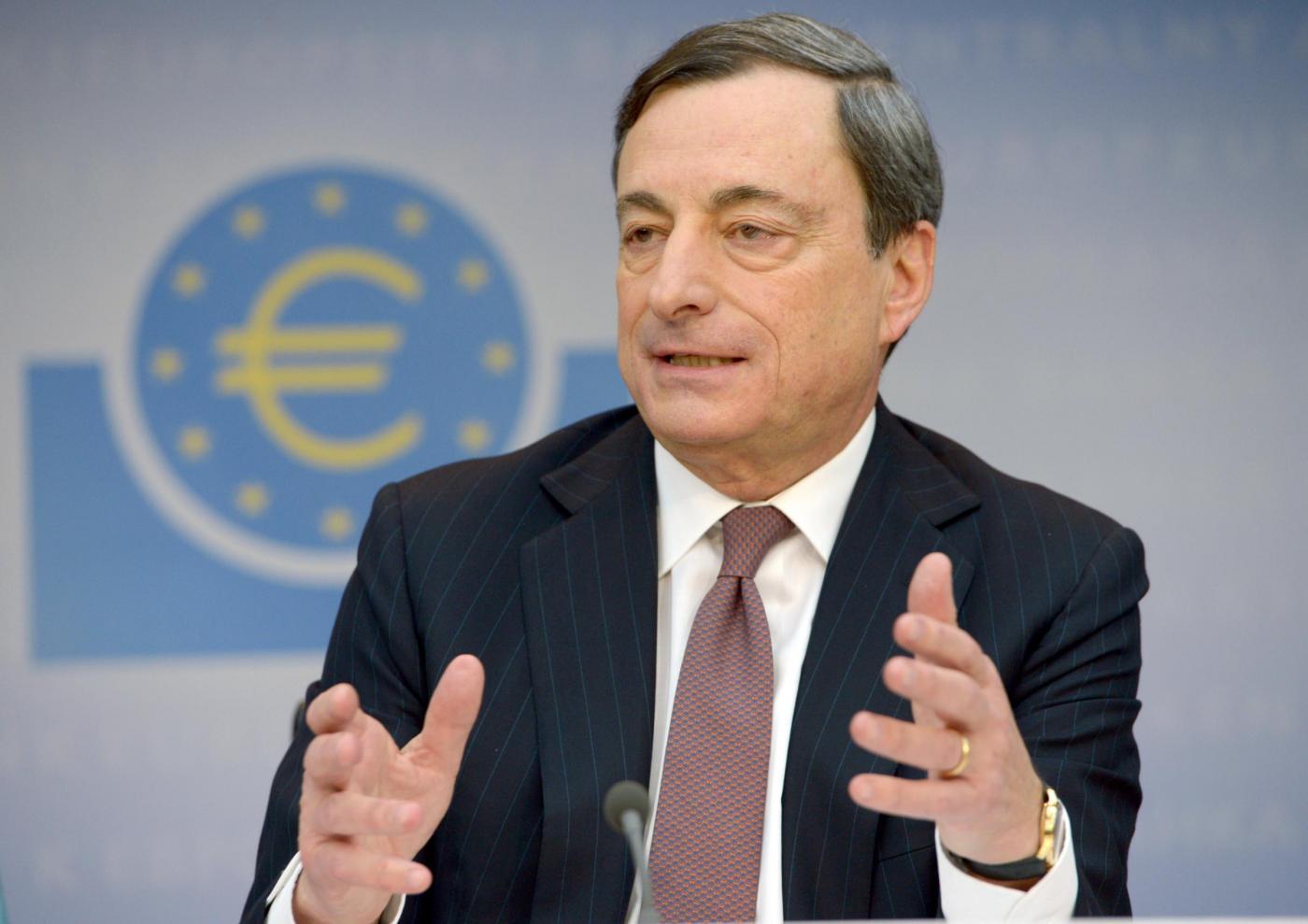 """Bce, Mario Draghi: """"Deflazione? No: semmai bassa inflazione, ma risalirà"""""""